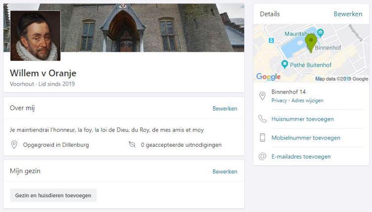 buurtapp fake profielnaam voor je eigen privacy