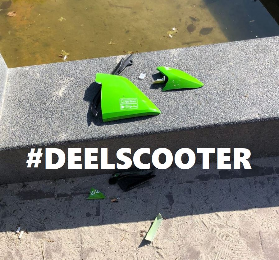 deelscooters gosharing felyx